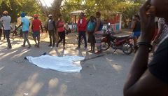 Řidič autobusu na Haiti zabil 39 osob, dalších deset zranil