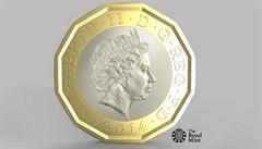 Británie chystá novou librovou minci, chce zabránit padělkům