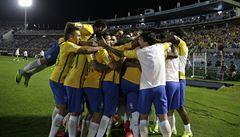 Brazilci rozstříleli v jihoamerickém šlágru Uruguay a jsou blízko postupu na MS