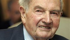 Zemřel americký bankéř a filantrop David Rockefeller. Ve 101 letech mu selhalo srdce