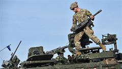 Českem o víkendu projel americko-britský vojenský konvoj