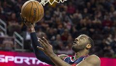 NBA: Washington porazil Cleveland, Satoranský skóroval v závěru utkání