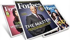 Číňané chtějí ovládnout prestižní časopis Forbes, který dělá žebříčky boháčů