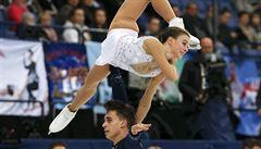 Dušková s Bidařem skončili 14., na olympiádu to ale nestačilo