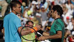 Smolný thriller. Berdych měl proti Federerovi dva mečboly, přesto prohrál
