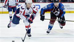 NHL: Washington po výhře nad Coloradem směřuje k vítězství v základní části