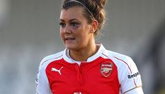 Kvůli žárlivosti rozpoutala hvězda Arsenalu bitku. Skončila s monoklem pod okem