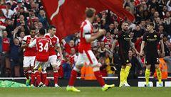 Šlágr mezi Arsenalem a Manchesterem City skončil remízou 2:2