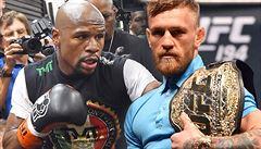 Šampion UFC: Pokud se utkají, tak Mayweather klidně může McGregora zabít