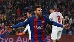 Real se přiblížil výhrou 4:0 titulu, Messi vstřelil padesátý gól sezony