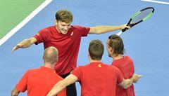 Čtvrtfinále DC: postupují také Australané a Belgičané, doplnili Francouze a Srby
