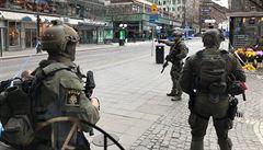 Téměř na sto procent máme atentátníka ze Stockholmu, hlásí švédská policie