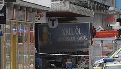 Teror ve Stockholmu. Policie dopadla pachatele, podle médií jde o 39letého Uzbeka