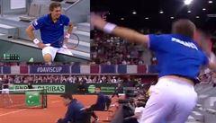 VIDEO: Úder roku? Tenisový maratonec Mahut odehrál míček z hlediště. Dvakrát