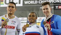 Bábek málem zahynul při nehodě, nyní slaví bronz v keirinu na mistrovství světa