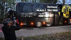 Autobus fotbalistů Dortmundu zasáhly exploze. Podle policie šlo o cílený útok