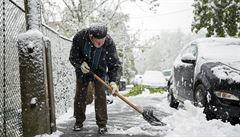Sníh v Evropě: v Maďarsku bylo bez proudu 24 tisíc domácností, Rakousko varuje před lavinami
