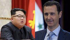 Kim s Asadem mají společný osud v mládí i schopnost přežívat. Změní to Trump?