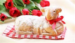 Zájem o velikonoční beránky je, říká majitelka cukrářství