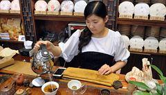 Čínský čaj pchu-er zraje jako víno, prodává se za statisíce korun