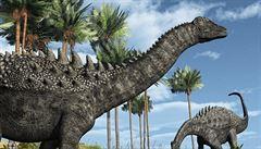 Dinosauří produkce metanu přispěla ke globálnímu oteplení