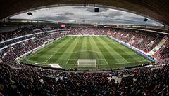 Stadion v Edenu už patří čínskému vlastníkovi fotbalové Slavie