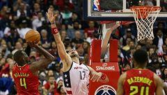 NBA: Washington porazil Atlantu. Satoranský zasáhl do hry jen na pár sekund