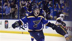 NHL: Tarasenko se dvěma góly postaral o triumf St. Louis