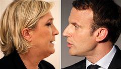Duel kandidátů na prezidenta připomínal box. Vyhrál Macron, komentuje tisk