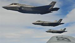 USA posílají do Estonska nejmodernější 'neviditelné' stíhačky F-35. Kvůli anexi Krymu