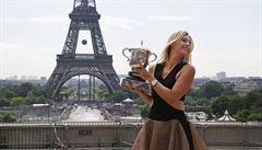 Královna Paříže. Šarapovová si triumf na Roland Garros vychutnala