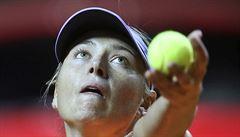 Šarapovová při premiéře po návratu po dopingu skončila v semifinále