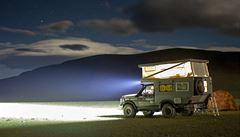 Na kole i v kamionu. Na Slovensko se sjedou nomádi z celého světa