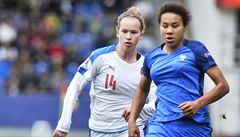 Mladé fotbalistky začaly mistrovství Evropy do 17 let těsnou prohrou s Francií