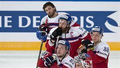 Prokletí trvá. Čeští hokejisté bojovali, Kanadě ale podlehli na úvod MS hladce 1:4