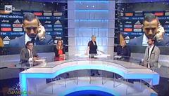 VIDEO: Ostuda v přímém přenosu. Urážel rasisticky hráče Juventusu někdo z moderátorů?