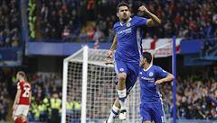 Chelsea poslala výhrou Middlesbrough do druhé ligy a je jednu výhru od titulu