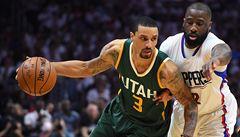 NBA: Utah vyřadil Clippers a je posledním čtvrtfinalistou ligy