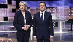 Poslední televizní debata pomohla Macronovi. Zvýšil náskok nad Le Penovou