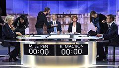 ROKOS: Rozum versus chaos. Macron a Le Penová se ve finální debatě míjeli