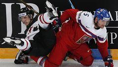 Čeští hokejisté po sedmi letech porazili Kanadu. Ukončili sérii osmi proher v řadě