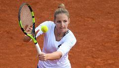 Kristýna Plíšková na titul na Prague Open nedosáhla. Podlehla Němce Barthelové