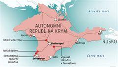 K autonomnímu Krymu se chtějí připojit tři ukrajinská města