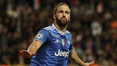 Juventus nakročil do finále Ligy mistrů. Monako potopil Higuain