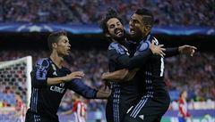 Atlético v odvetě semifinále Ligy mistrů rychle vedlo 2:0, postupuje ale Real