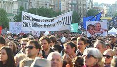 V Praze a dalších městech se bude večer opět demonstrovat proti Babišovi a Zemanovi