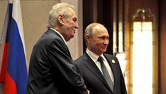 Novináře je třeba likvidovat, řekl Zeman Putinovi. Ten by dal přednost redukci