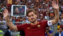 Francesco Totti se loučil s AS Řím