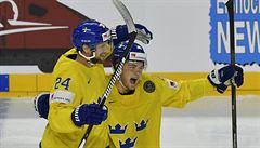 Švédsko zlomilo Finy v přesilovkách a zahraje si s Kanadou o titul