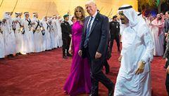 'Král souhlasil.' Saúdská Arábie podle Trumpa slíbila výrazné zvýšení těžby ropy